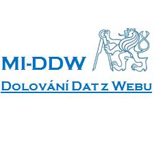 Dolování dat z webu
