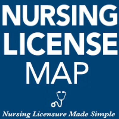 Nursing License Map | Social Profile