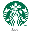 Starbucks logo reasonably small