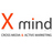 X mind logo normal