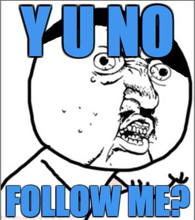 Y U No ?? Social Profile