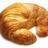 Croissant klein normal