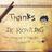 Thank You J.KRowling | Social Profile