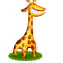 Giraffe reasonably small
