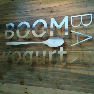 boom yogurt bar | Social Profile