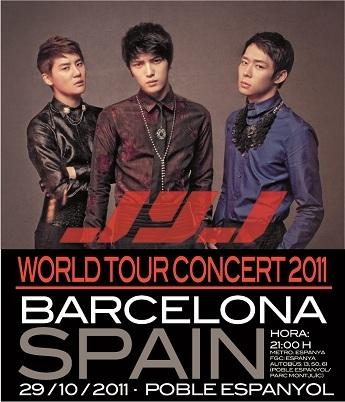 JYJ World Tour 2011 Social Profile