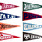 Ivy league pennant set 9152big normal