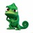 Pascal the chameleon from tangled rapunzel disney cartoon 4  normal