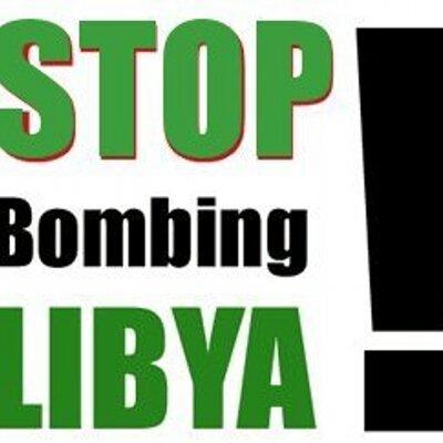 Stop Bombing Libya | Social Profile