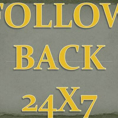 FOLLOWBACK24x7 | Social Profile