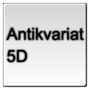 Antikvariat 5D