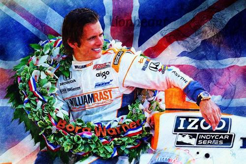 Dan Wheldon Auction Social Profile
