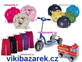 Viki - hračky, kočár