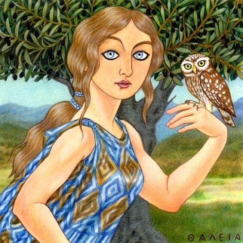 essays on athena greek goddess