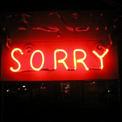 SorryWe'reNotSorry   Social Profile