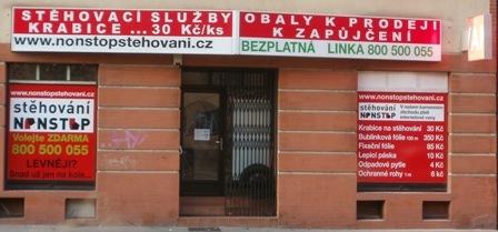 Stehovani Praha