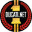 Ducatinet logo gold normal