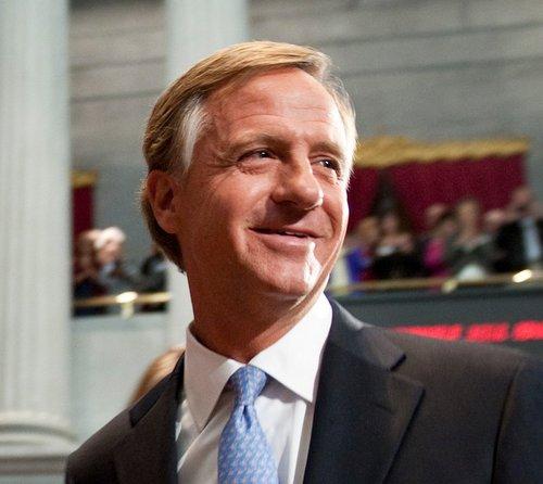 Gov. Bill Haslam Social Profile