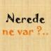 Nerede Ne Var'ın Twitter Profil Fotoğrafı