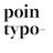 pointypo