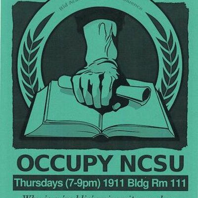 Occupy NCSU | Social Profile