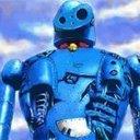 青い鉄クズロボ