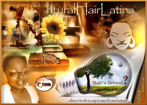 NaturalHairLatina Social Profile