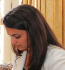 Mina Al-Oraibi Social Profile