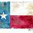 Texas flag  weathered  normal