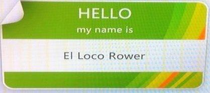 El Loco Rower Social Profile