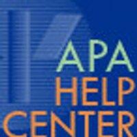 APAHelpCenter | Social Profile
