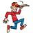 Stock illustration 11228041 pizza delivery boy 1  normal