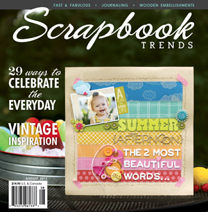 Scrapbook Trends Mag Social Profile