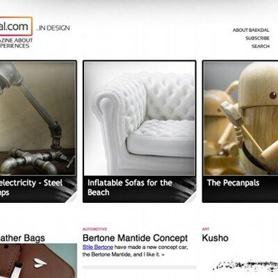 Baekdal.com Design