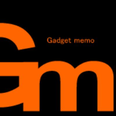 ガジェメモ | Social Profile