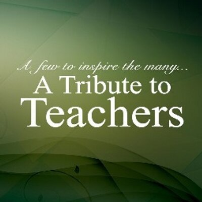 essay on tribute to the teacher