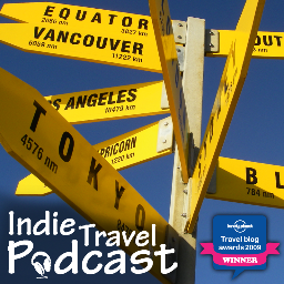Indie Travel Podcast Social Profile