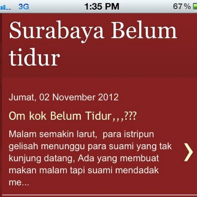 SurabayaBelumTidur | Social Profile