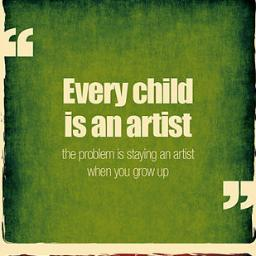 Great Art Quotes Social Profile