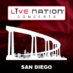 Live Nation San Diego's Twitter Profile Picture