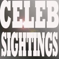 @CelebSightings Social Profile