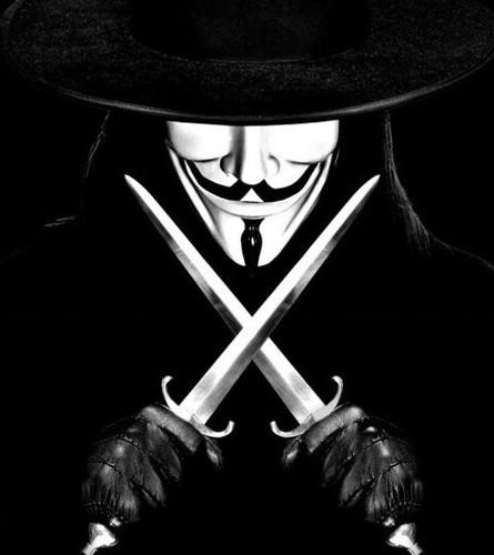 V for vendetta guy fawkes mask original white