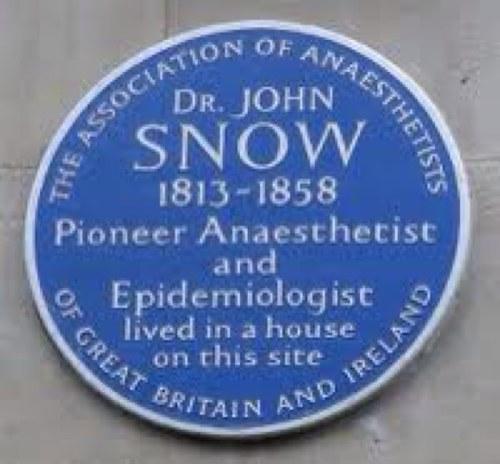 john snow epidemiologist