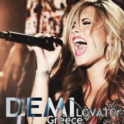 Demi Lovato Greece's Twitter Profile Picture