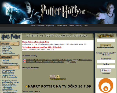 PotterHarry.net