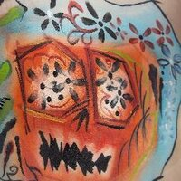 Zebra Face Painting | Social Profile