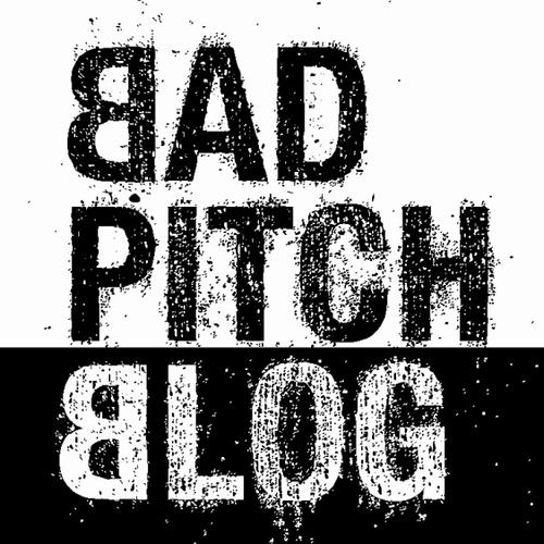 Bad Pitch Blog Social Profile