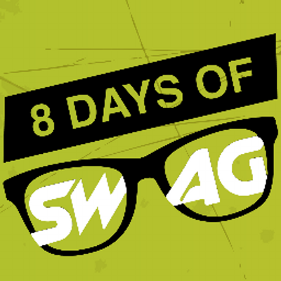 8 Days of SWAG