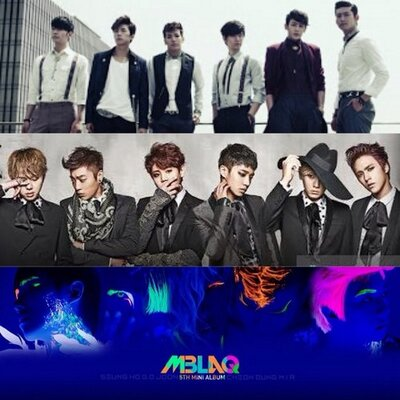 2PM MBLAQ B2ST | Social Profile
