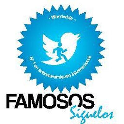 famosos siguelos | Social Profile